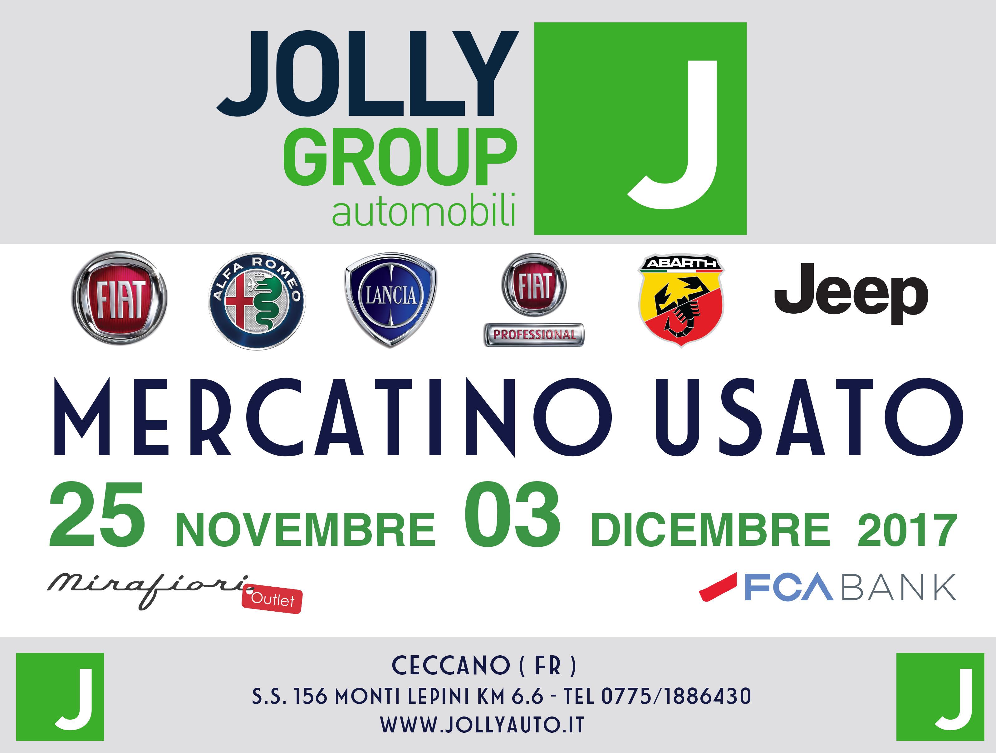 Mercatino usato jolly group automobili for Mercatino usato frosinone